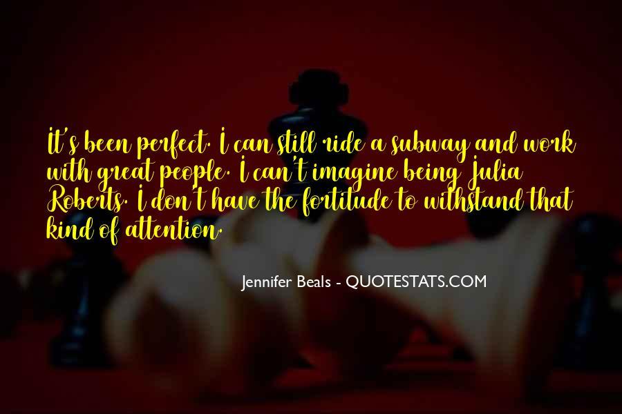 Jennifer Beals Quotes #466188