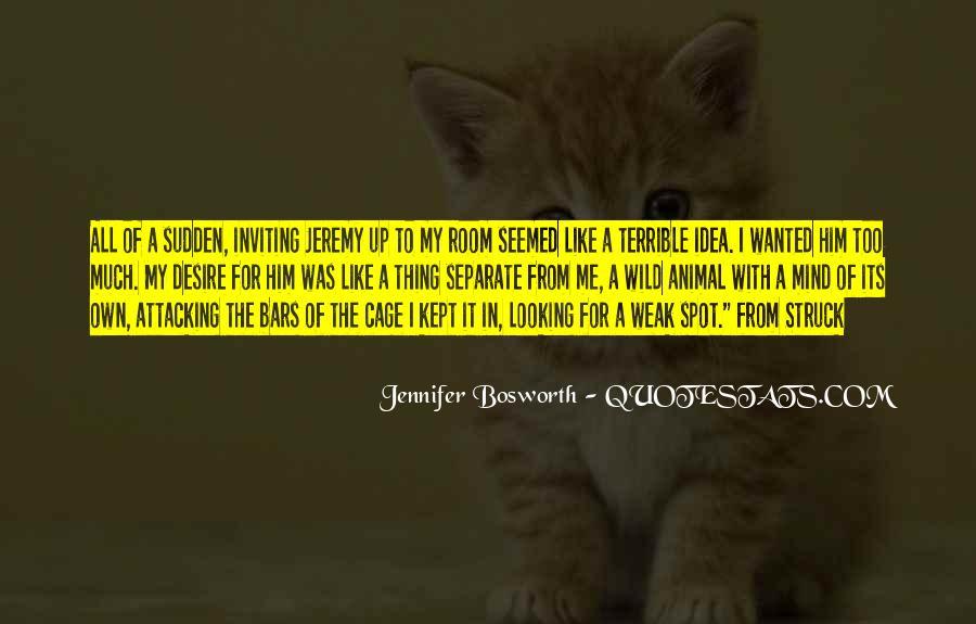 Jennifer Bosworth Quotes #1454251