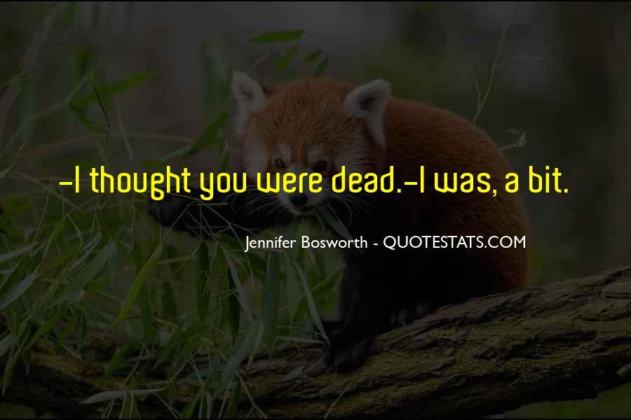 Jennifer Bosworth Quotes #1826561
