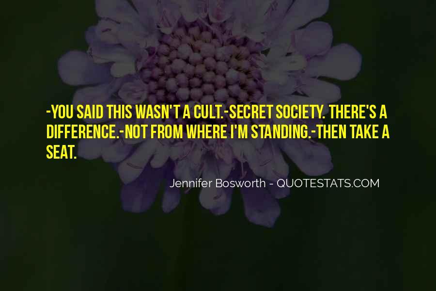 Jennifer Bosworth Quotes #851579