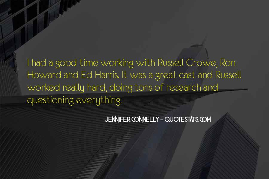 Jennifer Connelly Quotes #1019406