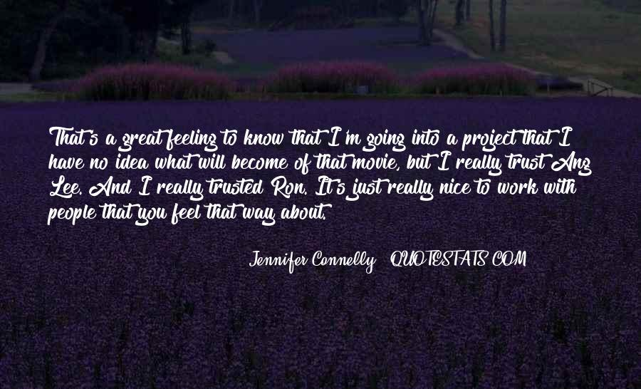 Jennifer Connelly Quotes #1148249