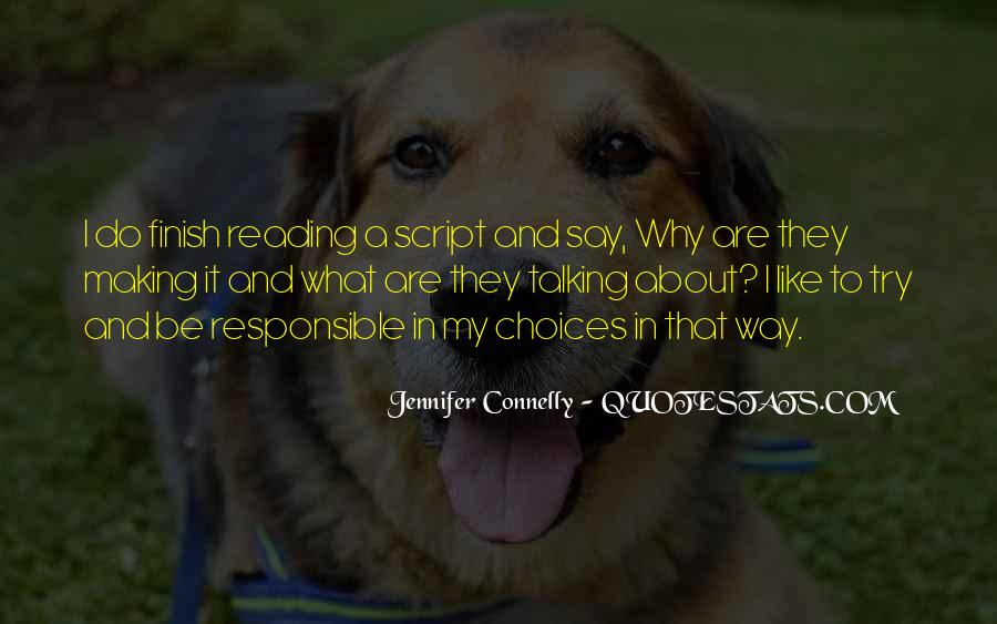 Jennifer Connelly Quotes #920238