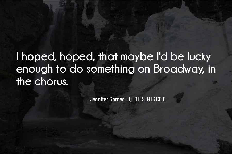 Jennifer Garner Quotes #434899