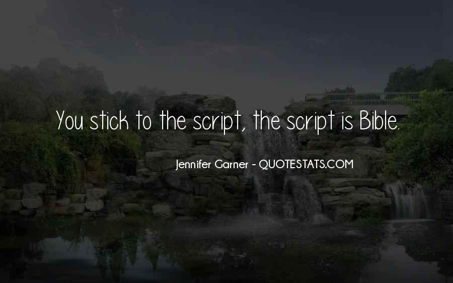 Jennifer Garner Quotes #699507