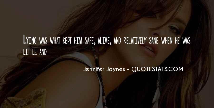 Jennifer Jaynes Quotes #59653