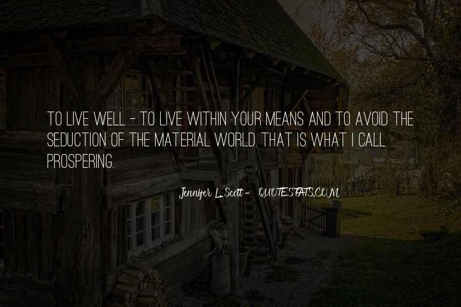 Jennifer L. Scott Quotes #596545