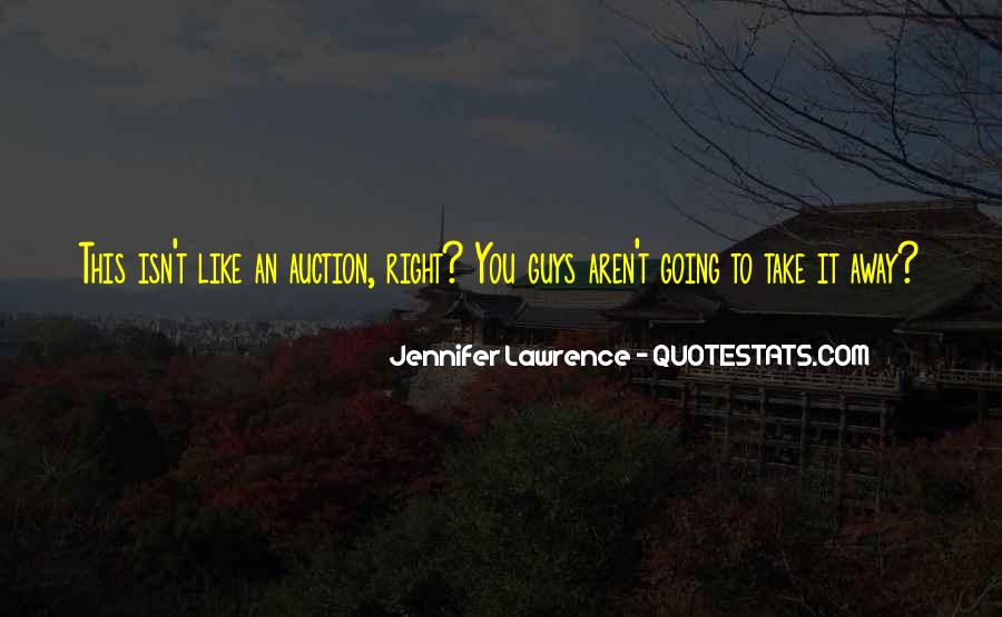 Jennifer Lawrence Quotes #1001010
