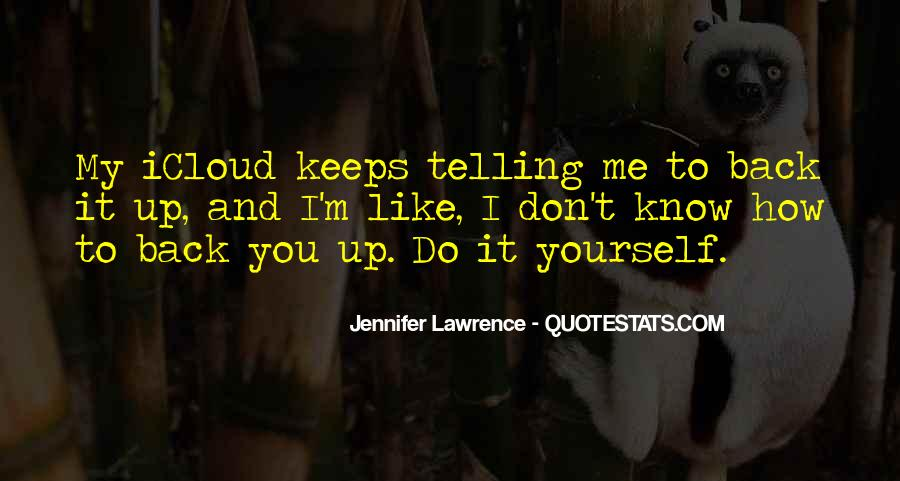 Jennifer Lawrence Quotes #1027348