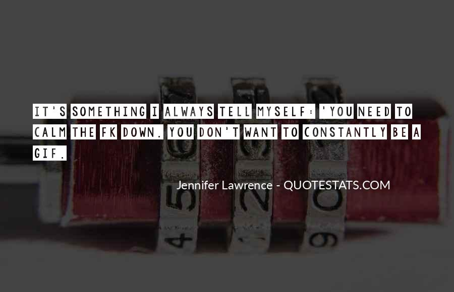 Jennifer Lawrence Quotes #1401907