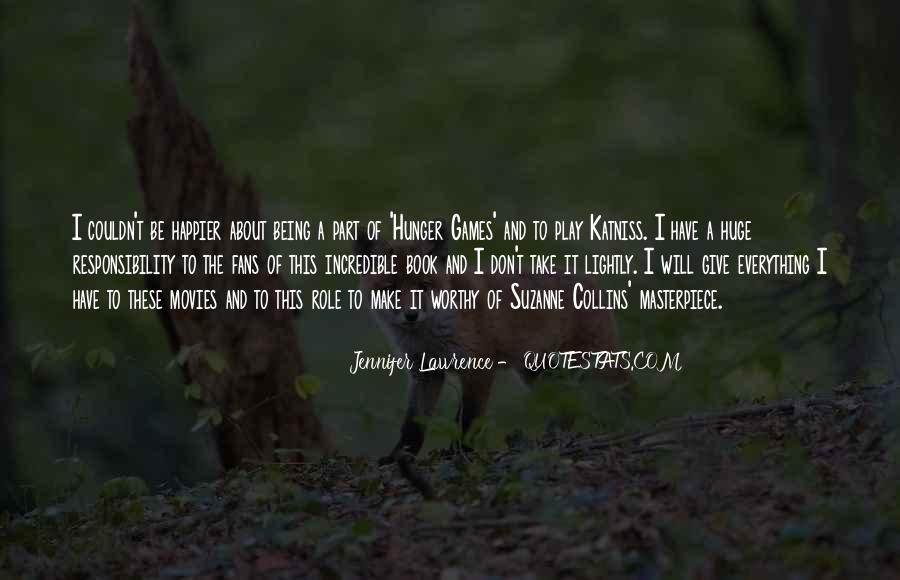 Jennifer Lawrence Quotes #1726345