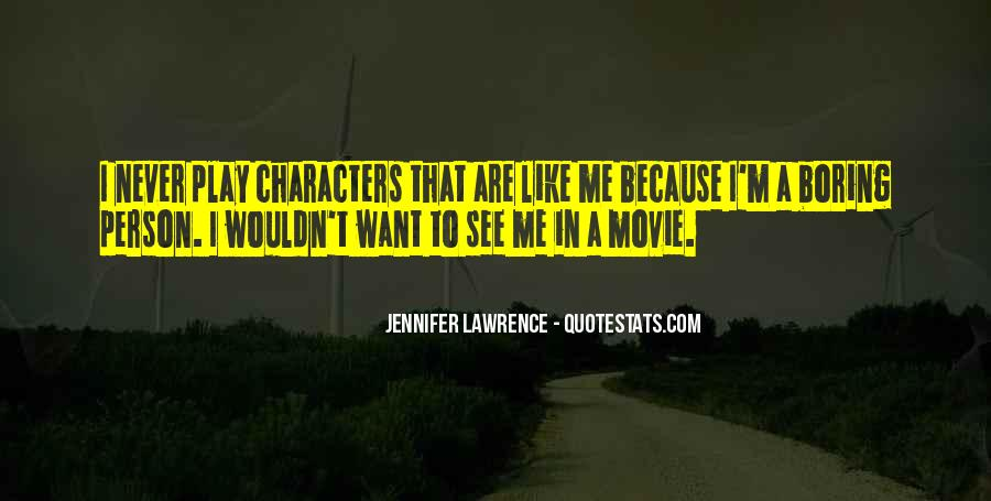 Jennifer Lawrence Quotes #343466