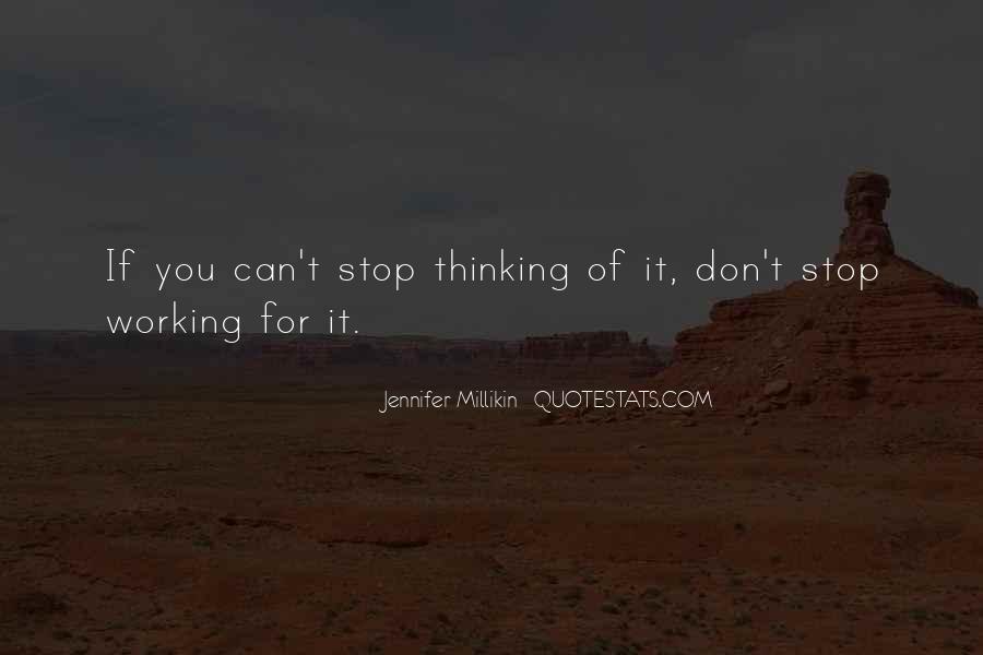 Jennifer Millikin Quotes #1343874