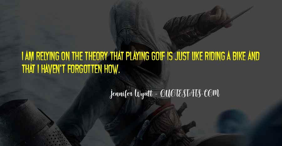 Jennifer Wyatt Quotes #1633263