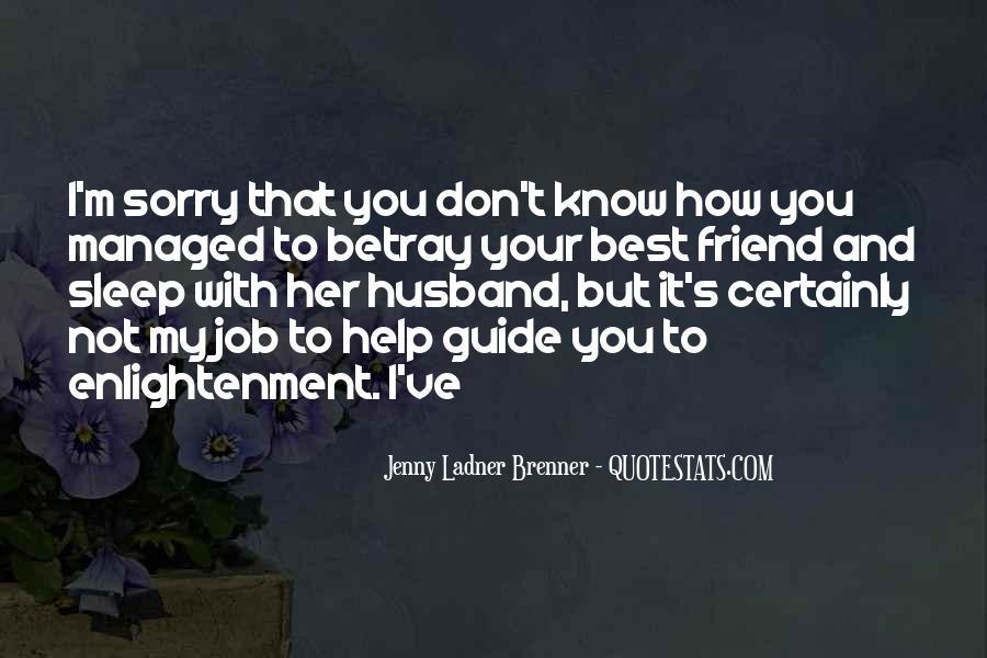 Jenny Ladner Brenner Quotes #1470798