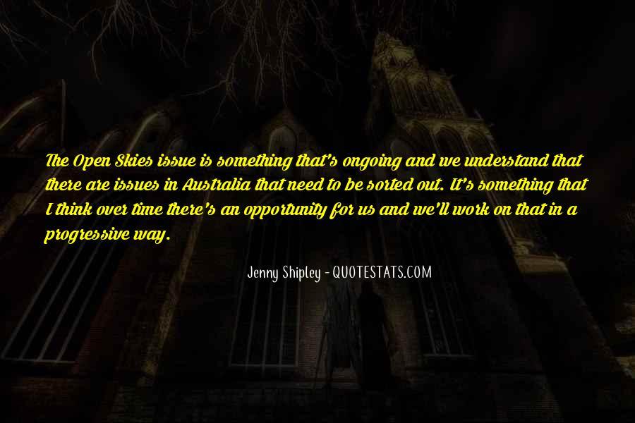 Jenny Shipley Quotes #1665730
