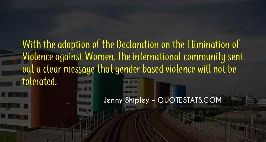 Jenny Shipley Quotes #1794034
