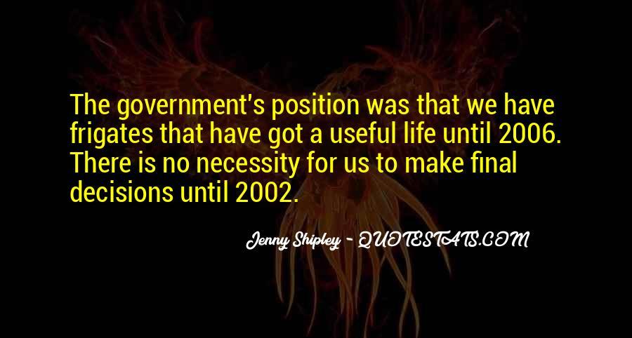 Jenny Shipley Quotes #496084