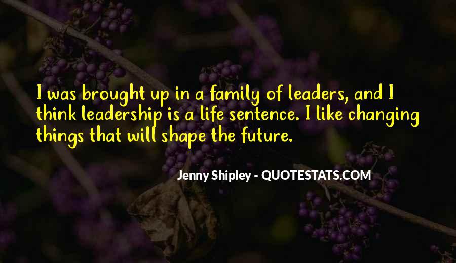 Jenny Shipley Quotes #662110