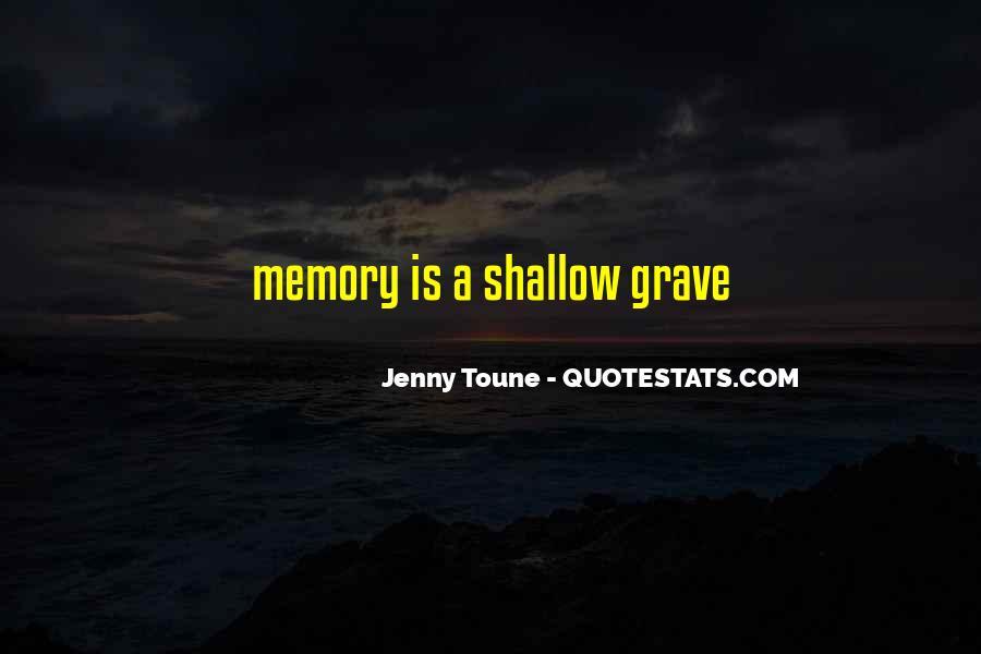 Jenny Toune Quotes #60582