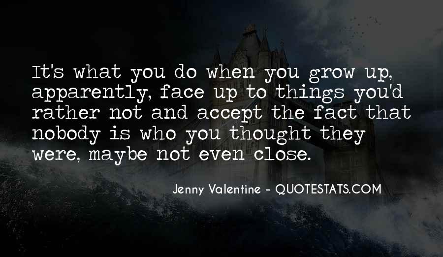 Jenny Valentine Quotes #1410702