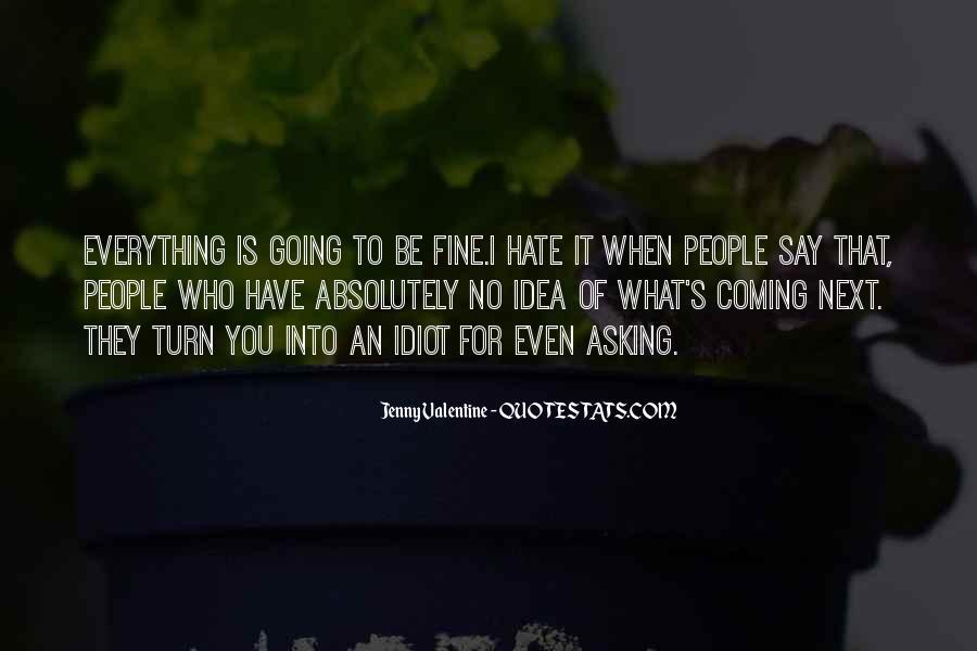 Jenny Valentine Quotes #670784