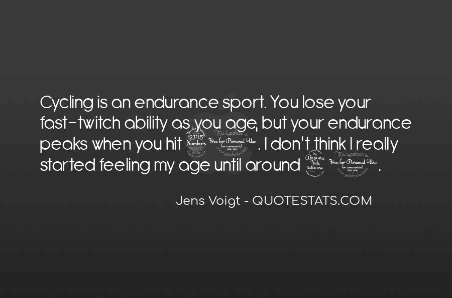 Jens Voigt Quotes #1036796