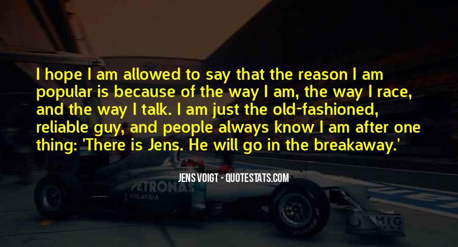 Jens Voigt Quotes #287569