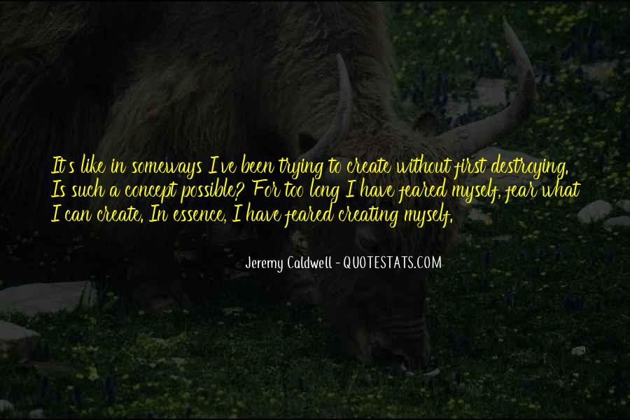 Jeremy Caldwell Quotes #1541606