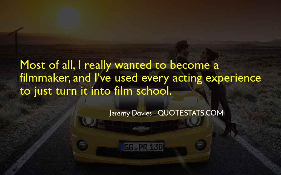 Jeremy Davies Quotes #494099