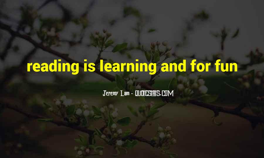 Jeremy Lam Quotes #794449
