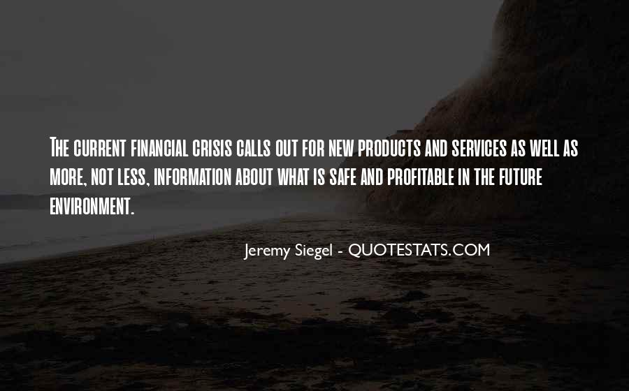 Jeremy Siegel Quotes #1162364