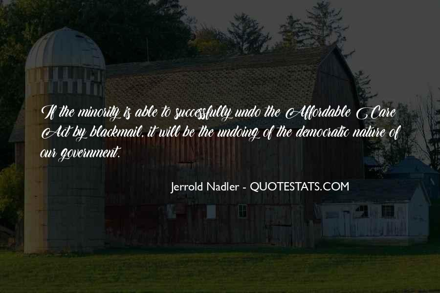 Jerrold Nadler Quotes #534987