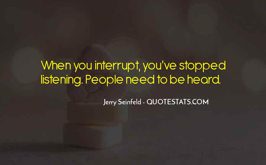 Jerry Seinfeld Quotes #1185765