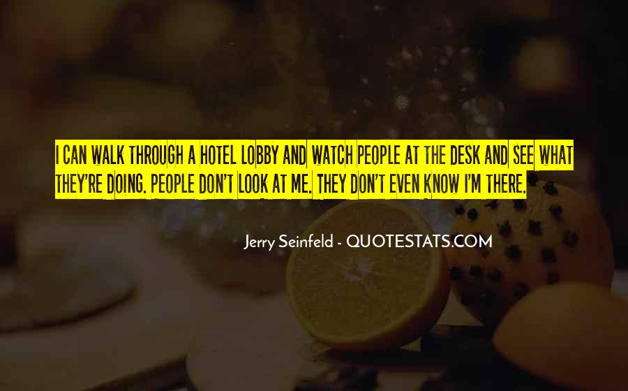 Jerry Seinfeld Quotes #1208141