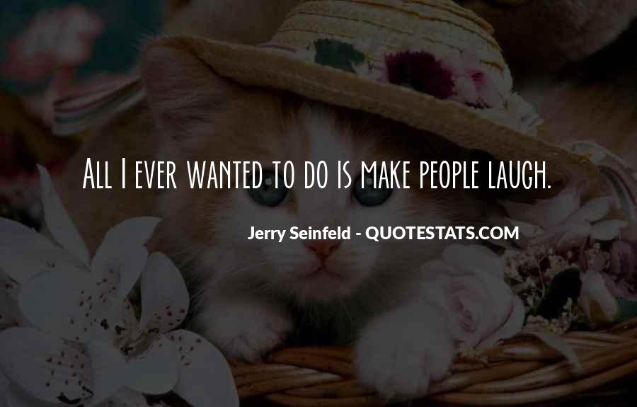 Jerry Seinfeld Quotes #1234176