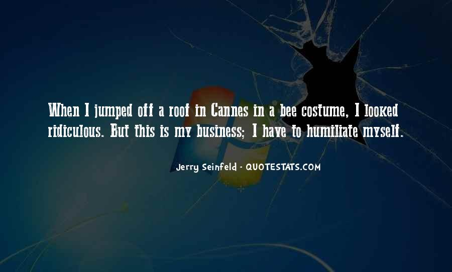 Jerry Seinfeld Quotes #1427156