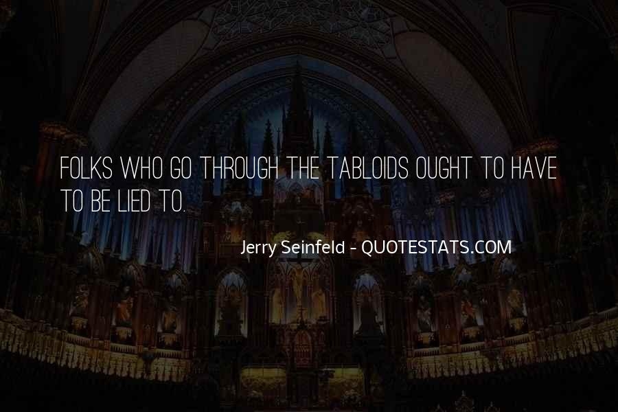 Jerry Seinfeld Quotes #1830404