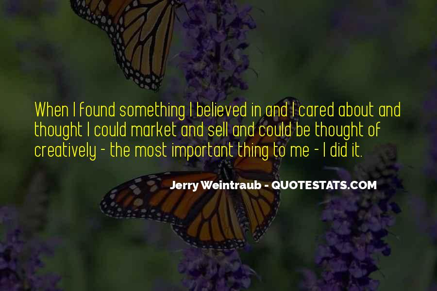 Jerry Weintraub Quotes #1794349