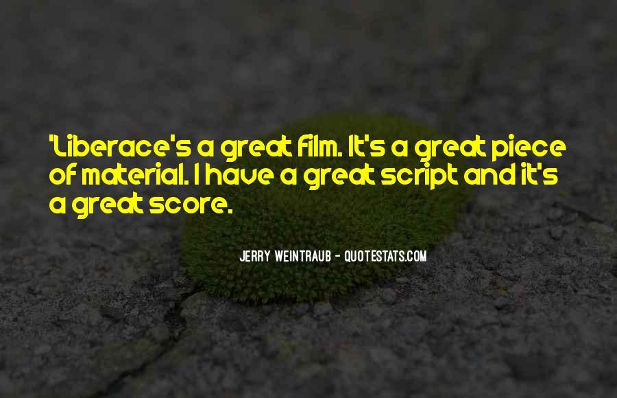 Jerry Weintraub Quotes #560091