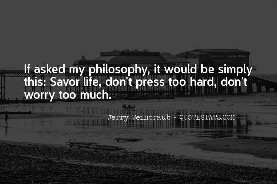 Jerry Weintraub Quotes #563146