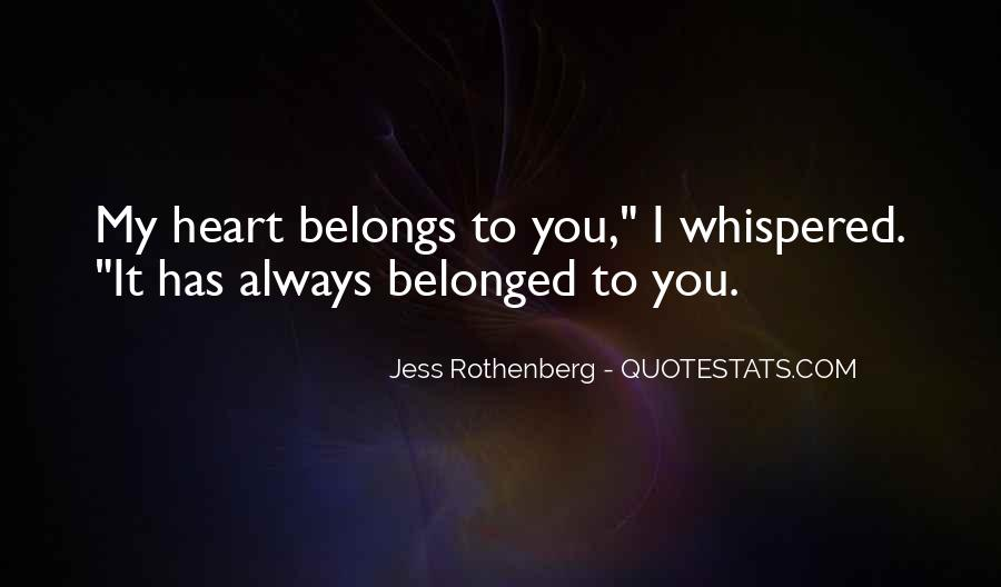 Jess Rothenberg Quotes #1219625