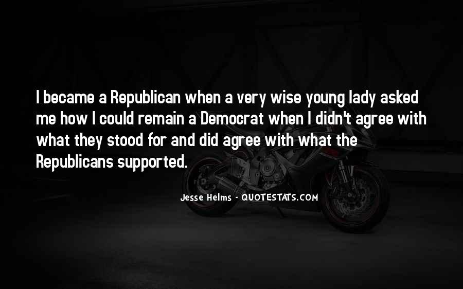 Jesse Helms Quotes #1684304