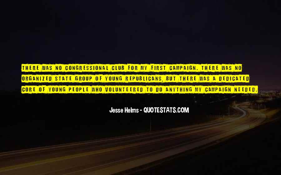 Jesse Helms Quotes #785005
