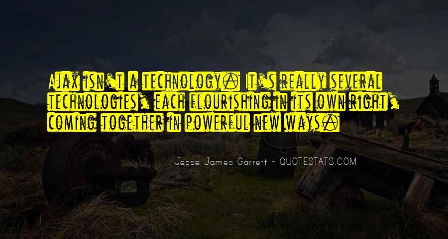 Jesse James Garrett Quotes #1039413