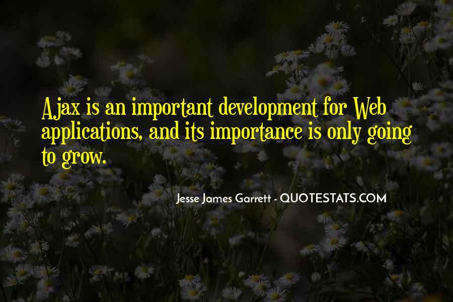 Jesse James Garrett Quotes #1248681