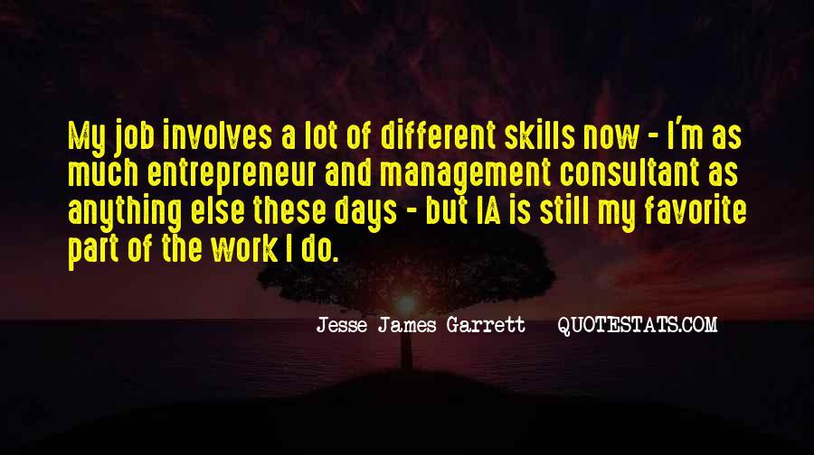 Jesse James Garrett Quotes #1634509