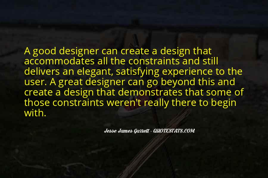 Jesse James Garrett Quotes #904205