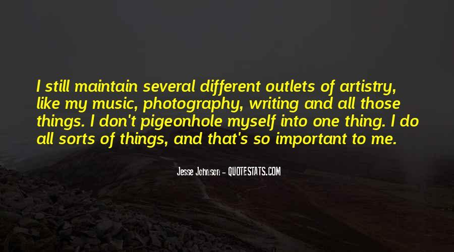 Jesse Johnson Quotes #1067362