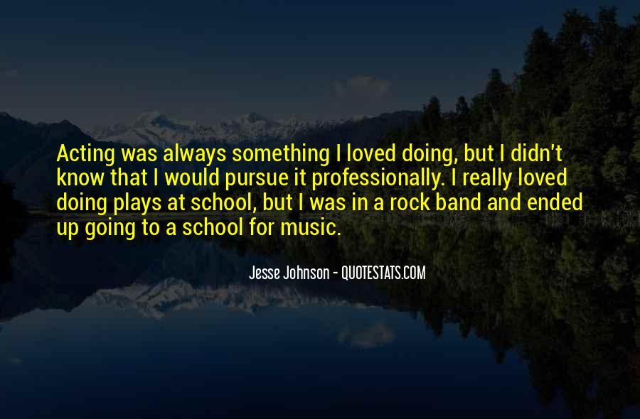 Jesse Johnson Quotes #1539608